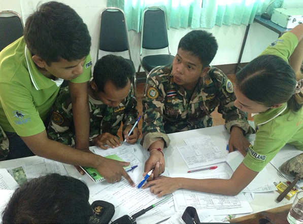 Building capacity of park staff